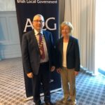 Honoured and delighted to be elected as Vice President of the Association of Irish Local Government