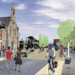 Changes to Dundrum Main Street, August 10