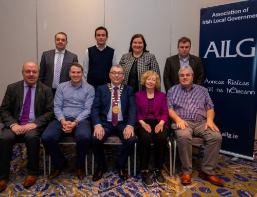 A packed and fruitful year as Vice President of the Association of Irish Local Government!